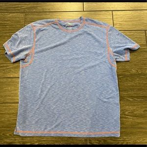 Tommy Bahama Short Sleeve Shirt in Blue Size XL